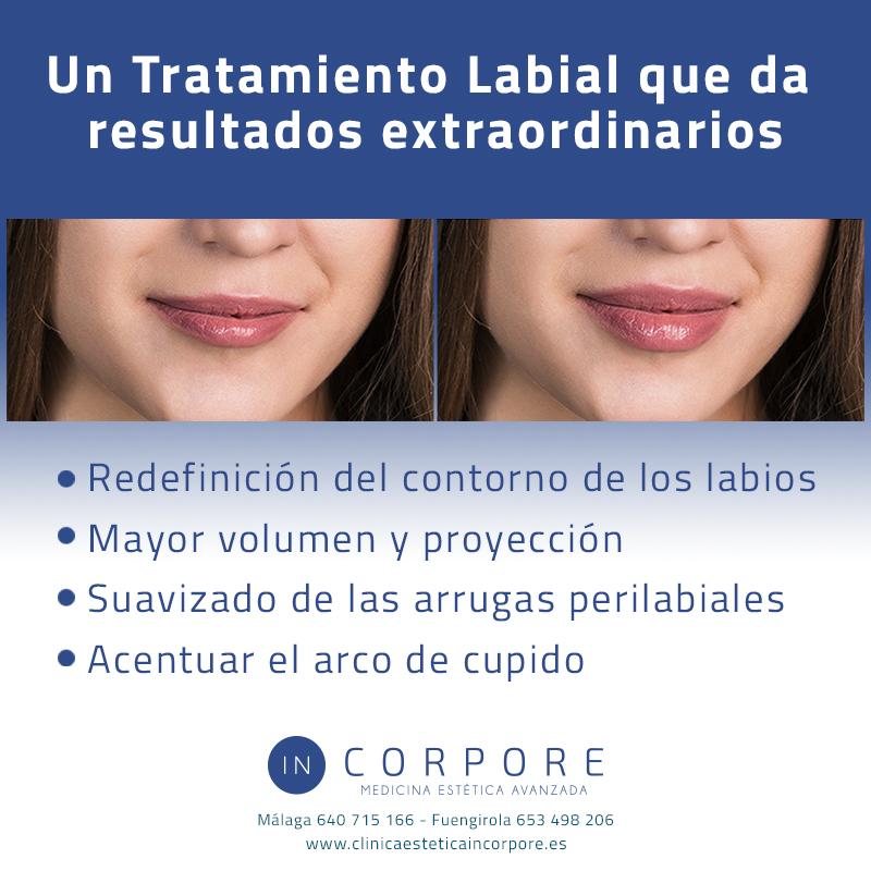 Remodelado labial tratamiento