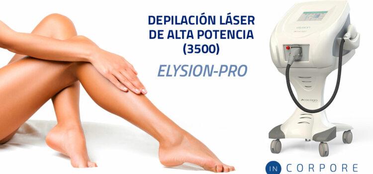 Depilación láser de alta potencia (3500) Elysion-Pro